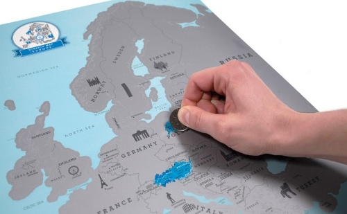 Европейска Скреч Карта