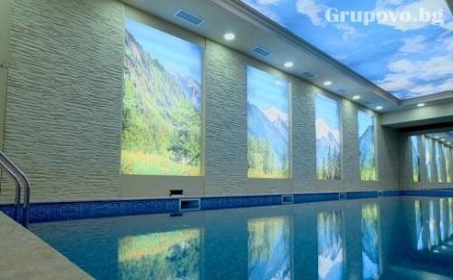 Релакс зона и топъл басейн + 1 или 2 нощувки със закуски в хотел Рила, Дупница