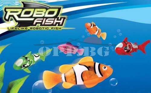 Рибка Робот – Мега Забавление за Деца и Възрастни!