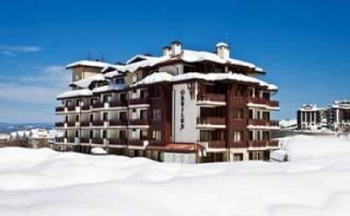 Най-Добрата Оферта за Коледа на Планина, 3 Дни в Студио със Закуска и Вечеря в Апартхотел Орбилукс, Банско