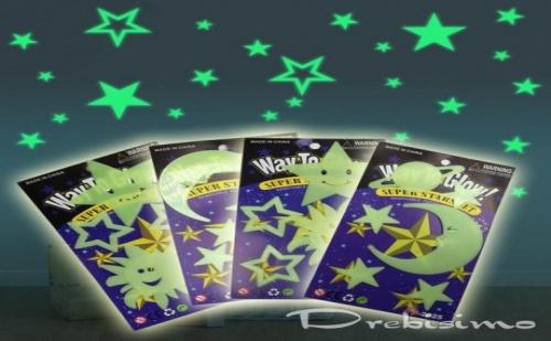 Светещи Звездни Фигури за Таван