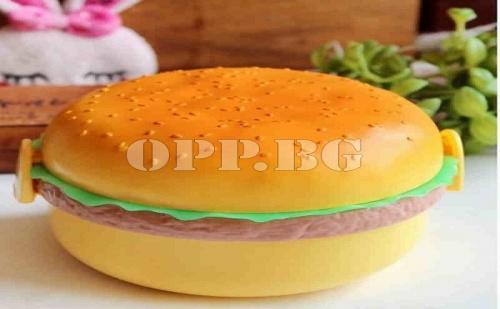 Креативна Кутия за Храна Бургер