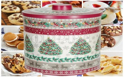 Метална Коледна Кутия