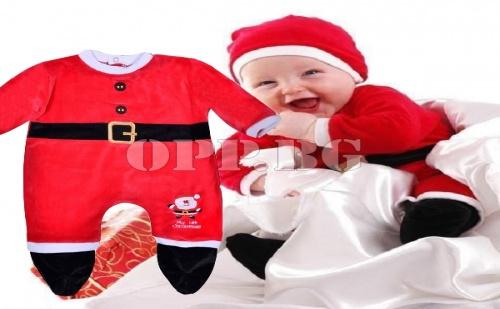 Бебешко Коледно Костюмче