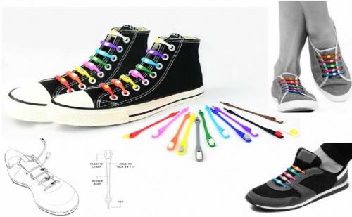 Фосфоресциращи Връзки за Обувки V-Ties
