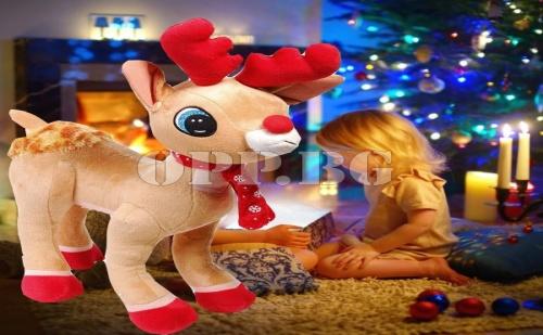 Сладък Интерактивен Коледен Елен