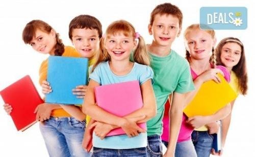 Едномесечен Курс по Английски Език за Деца от 4 до 5Г., 4 Занимания 2 Пъти Седмично по 1 Час, Малки Групи, в Учебен Център Английски Свят
