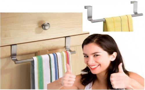 Закачалка за кърпи за врата на шкаф