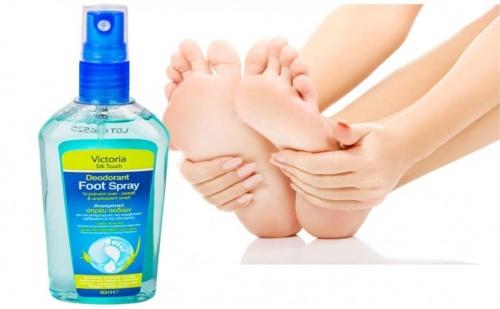 Спрей Дезодорант за крака Victoria Silk Touch