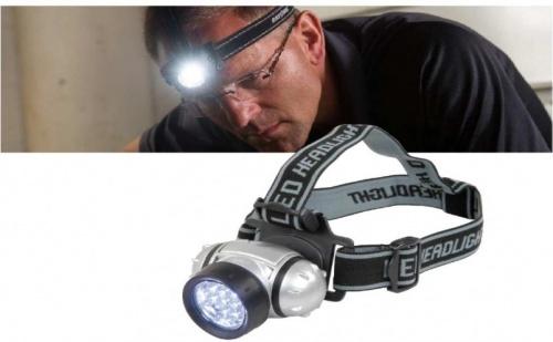 Мощен LED фенер - челник
