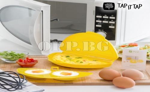 Уред за Готвене на Тортила, Яйца на Очи и Омлет в Микровълнова