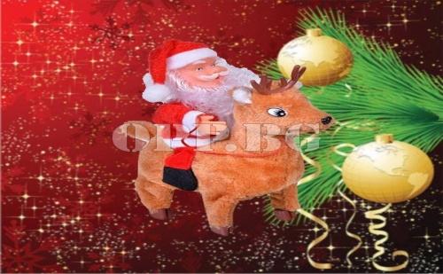 Музикален Дядо Коледа с Еленче
