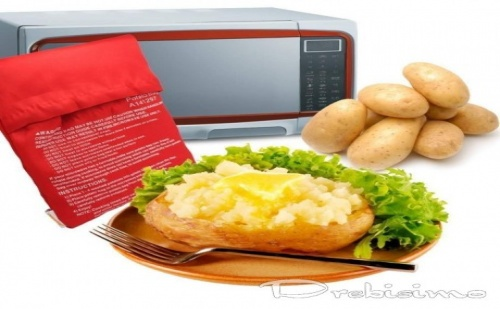 Плик за Печене на Картофи в Микровълнова