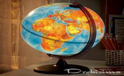 25 см глобус със светлина Unico