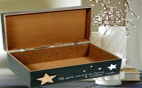 Дървена кутия за съхранение All you need