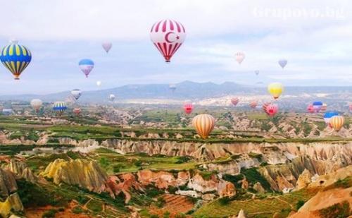 За Гергьовден: Екскурзия до Кападокия, Анaдола, Анкара, Коня и <em>Истанбул</em>. Транспорт, 4 Нощувки, 4 Закуски и 3 Вечери от Караджъ Турс