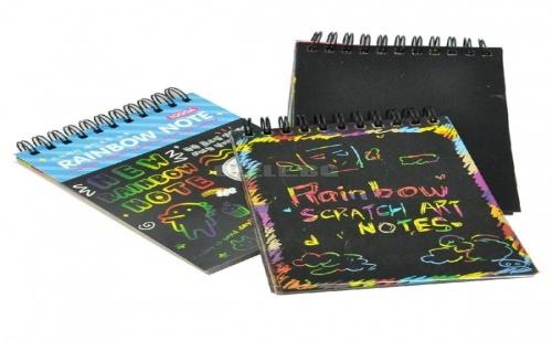 Вълшебно Блокче за Рисуване Scratchbook