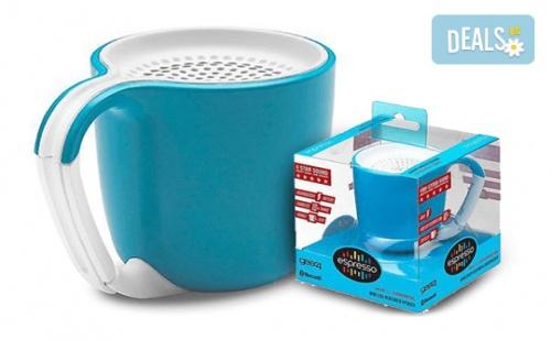 Вземете Преносима Безжична Тонколонка Espresso Gear 4 и Микро Usb Кабел за Зареждане