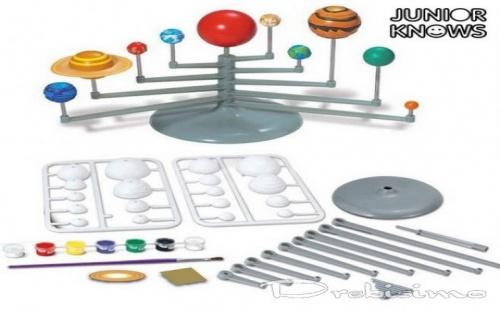 Комплект за Оцветяване - Планети от Слънчевата Система