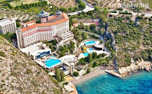 Ранни Записвания за Море в Кушадасъ, Турция! 7 All Inclusive Нощувки в Хотел Alkoclar Adakule***** Дете до 13Г. - Безплатно