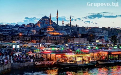 Уикенд в <em>Истанбул</em>! Транспорт, 2 Нощувки със Закуски + Посещение на Мол Ераста и Одрин от Дениз Травел