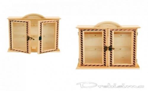 Кутия за Ключове с Възможност за Допълнителна Декорация