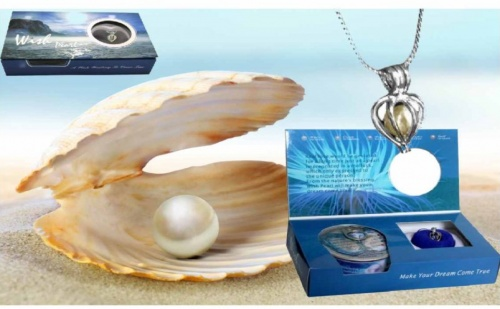Колие -Естествена Перла в Мида !