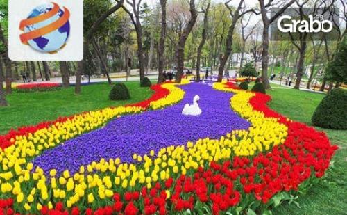 Екскурзия до Истанбул през Април! 2 Нощувки със Закуски, Плюс Транспорт и Възможност за Посещение на Фестивала на Лалето