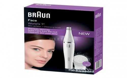 Електрически Уред за Почистване на Лице/епилатор Braun Face 810