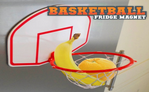 Магнит за Хладилник – Баскетболен Кош