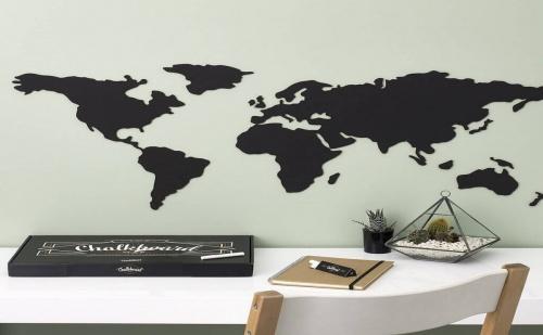 Самозалепваща, Световна Карта за Стена