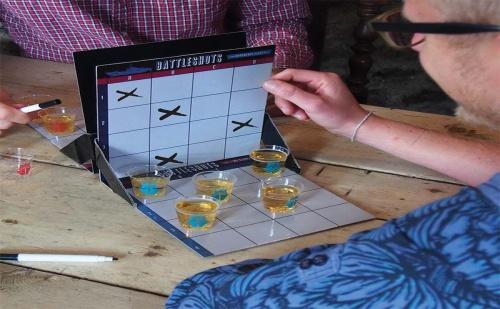 Алкохолна Игра - Battleshots