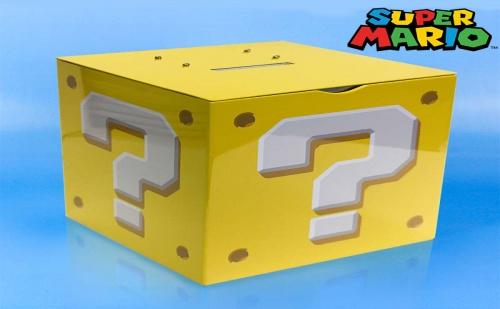 Детска Касичка за Пари със Звук super Mario