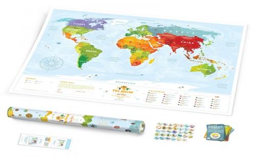 Карта на Света за Деца