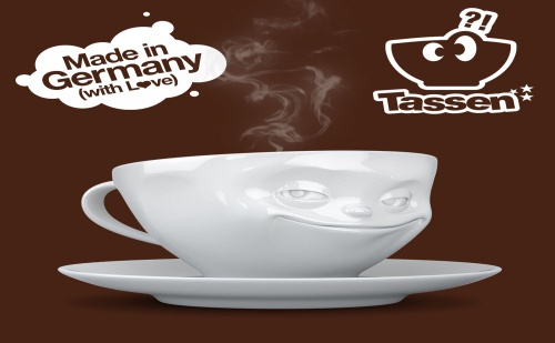 Чаша за Кафе и Чай с Изражение (200Мл.)