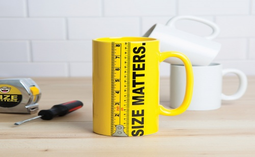 Чаша Size matters (900мл.)