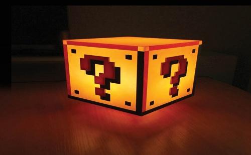 Настолна Лампа със Звук super Mario