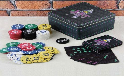 Чипове за Покер с Тесте Карти батман