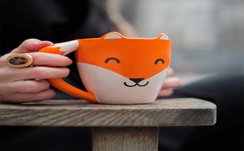 Чаша за Кафе – Лисица (275Мл.)