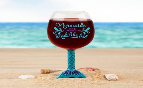 Чаша за Вино – Русалка (750Мл.)