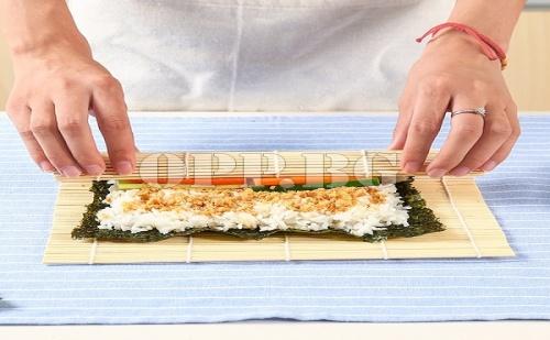 Бамбукова Рогозка за Приготвяне на Суши
