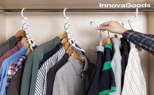 Органайзер на Закачалки за 40 Облекла Innovagoods