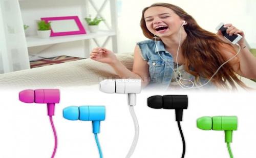 Цветни слушалки с микрофон Maxell Spectrum Earphones