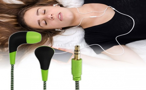 Слушалки Hama Neon Green