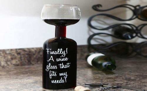 Чаша за Вино – Бутилка (750Мл.)
