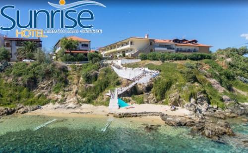 Юли до Септември на о. <em>Амулиани</em>, Гърция! Нощувка със Закуска на Цени от 82лв. в Хотел Sunrise