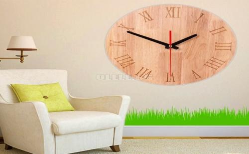 Декоративен Дървен Часовник