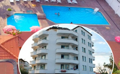 Цяло Лято в Реновирания Хотел Алба Фемили Клуб, <em>Приморско</em>! 5 или 7 Нощувки, Закуски и Вечери + Басейн на Топ Цени