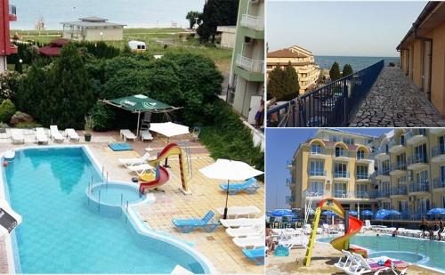 На Море през Юни в Равда на 50М. от Плажа. Нощувка, Закуска, Обяд и Вечеря + Басейн в Хотел Хит