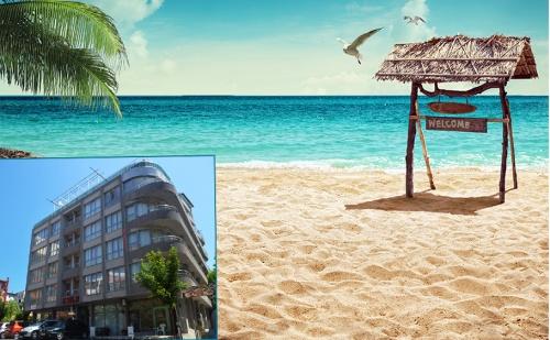 Цяло Лято в <em>Несебър</em> на 100М от Южния Плаж. Нощувка, Закуска и Вечеря в Хотел Стела